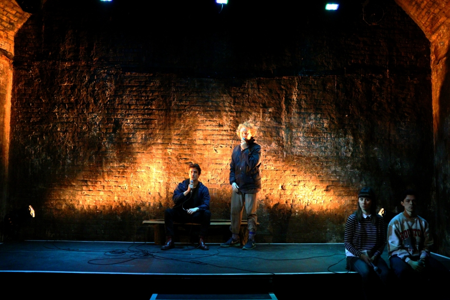 Cast of This Must Be The Place, VAULT Festival (courtesy of Mathew Foster).JPG