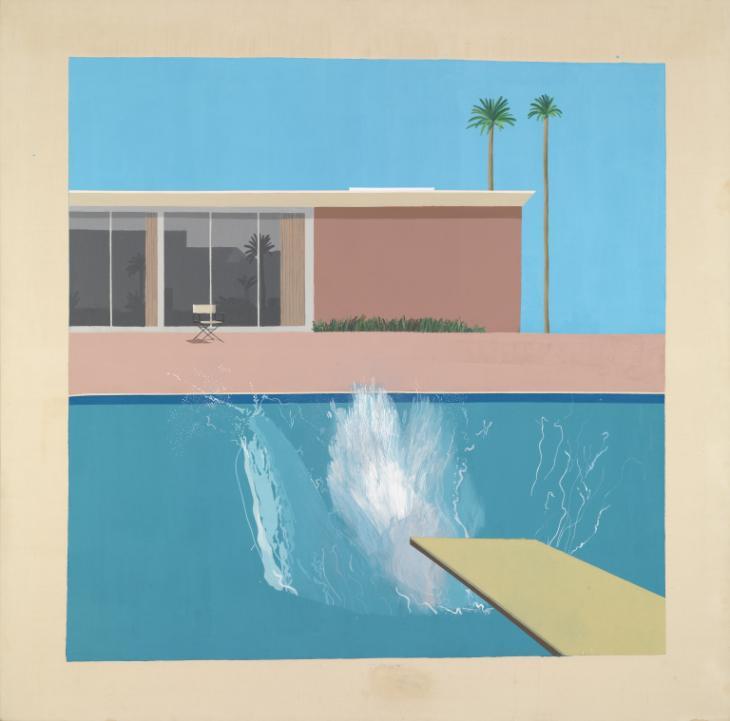 A Bigger Splash 1967 by David Hockney born 1937
