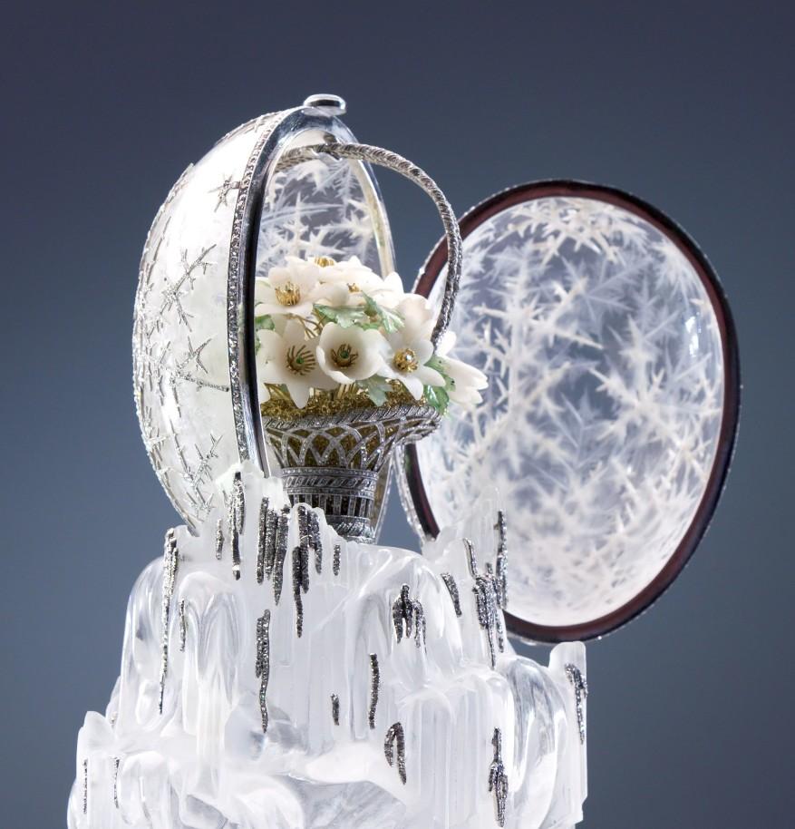 """Fabergé_s """"Winter Egg"""" of 1913"""