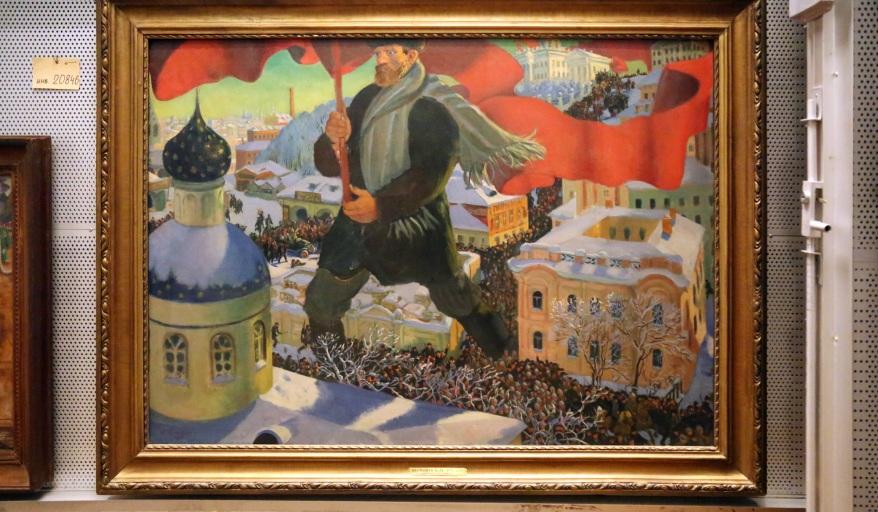 REVOLUTION-Kustodiev