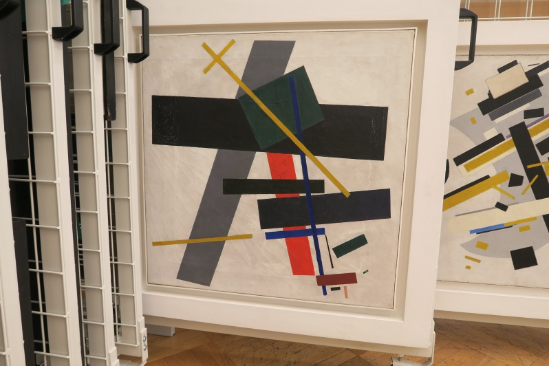 REVOLUTION Malevich. Suprematism 1915-16. Photograph © www.foxtrotfilms.com