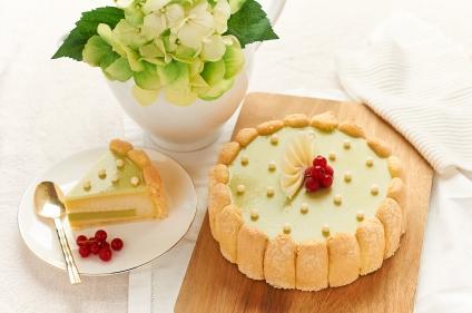 Goodwood Park Hotel D24 Durian Matcha Cake