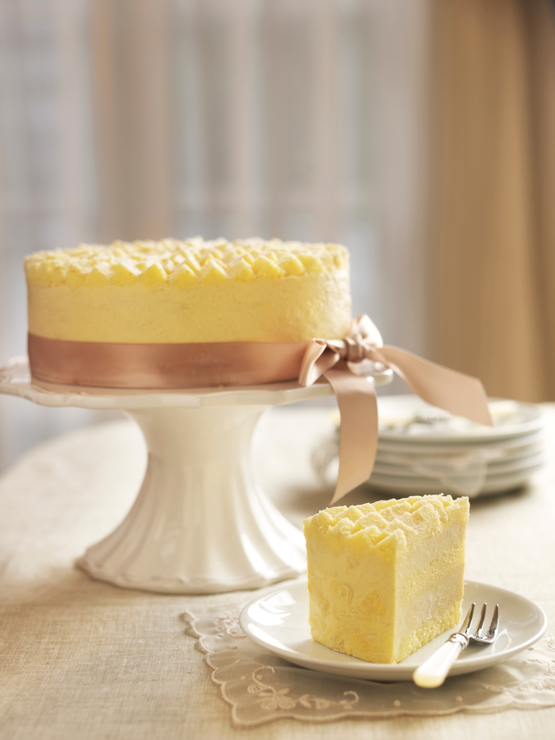 Goodwood Park Hotel D24 Durian Mousse Cake