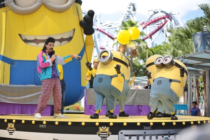 USS Despicable Me Breakout Party - Rodney's Rotten Gameshow 1