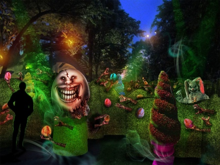 Artist Impression - Happy Horror Days scare zone