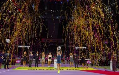 Dominika Cibulkova_Winner of WTA Finals 2016 (Photo Credit - Lagardère Sports)