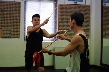 Glen in Rehearsals - 4