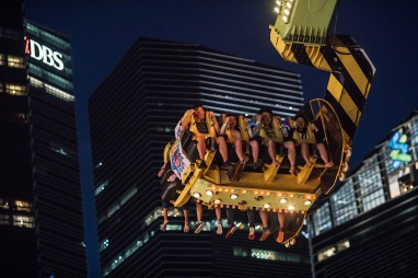 Carnival-goers riding the Mach 5. Image courtesy of Prudential Marina Bay Carnival.jpg