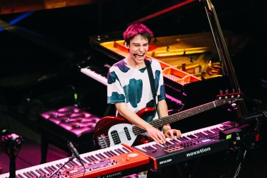 Key Image - Jacob Collier. Image courtesy of Betsy Newman