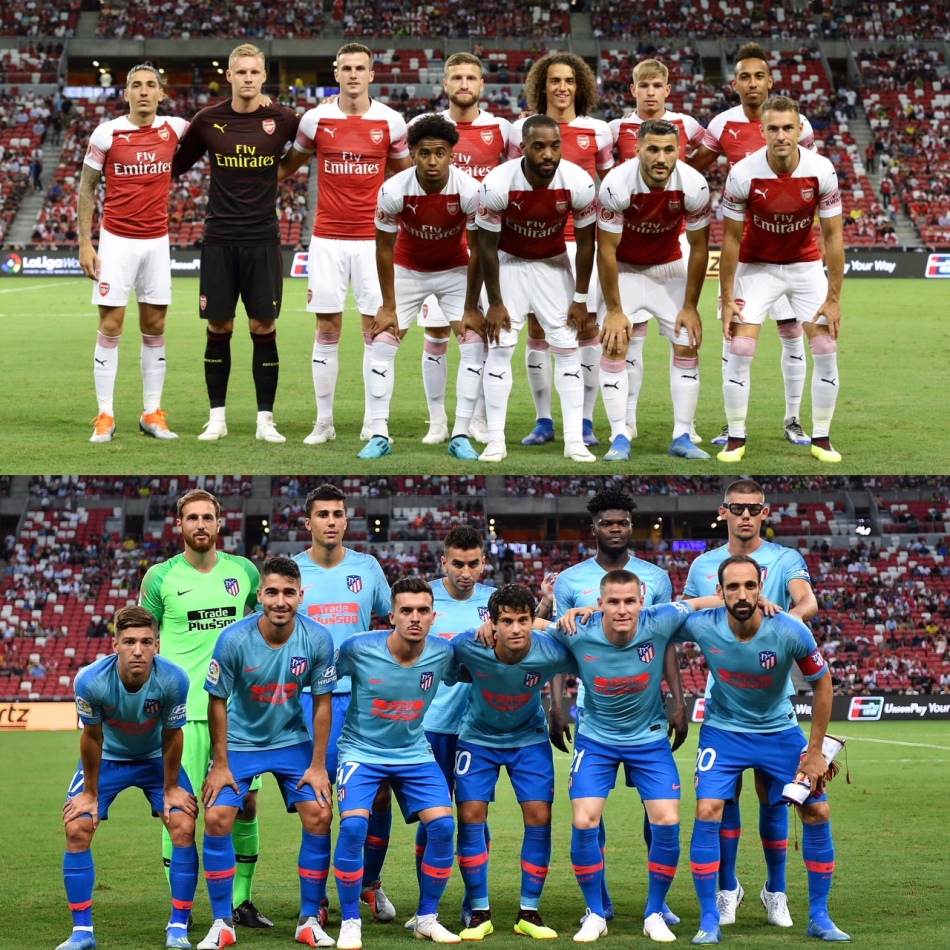 e23cac099ac The 2018 International Champions Cup (ICC) Singapore kicked off to a  roaring start last Thursday as English titans Arsenal went up against  Spanish giants ...
