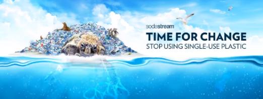 SodaStream - Stop using single-use plastic